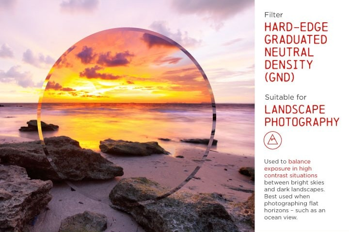 Hard-Edge Graduated Neutral Density Filter (GND)