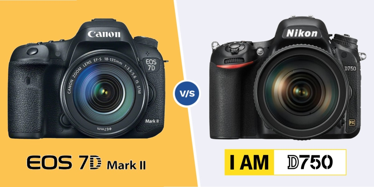 Canon eos 7D mark ii vs nikon D750