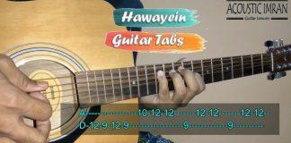 Hawayein Guitar Tabs thumbnail