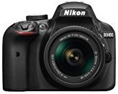 Nikon D3400 24.2 MP Digital SLR Camera (Black) + AF-P DX Nikkor 18-55mm f/3.5-5.6G VR Lens...