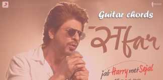 Safar guitar chords thumbnail jab harry met sejal