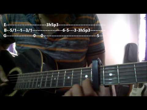 Guitar zindagi guitar chords : Tu Hi Hai Dear Zindagi Chords (Finger-style) - Arijit - GuitarUtha.com