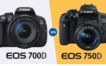 canon 700D vs canon 750D