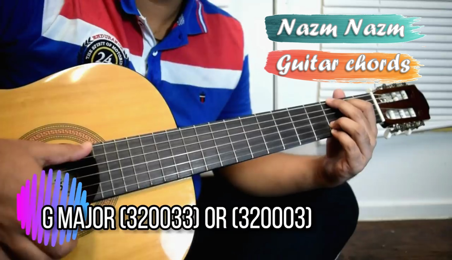 Tere Mere Guitar Chords With Capo And Strumming Pattern Chef