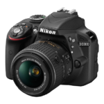 nikon d3300 left side view