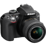 nikon d3300 right side view